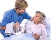 Агентство предлагает услуги сиделки на дом и в больницу